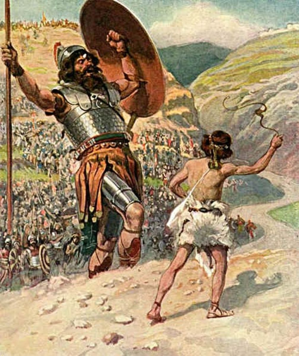 Poem: David and Goliath