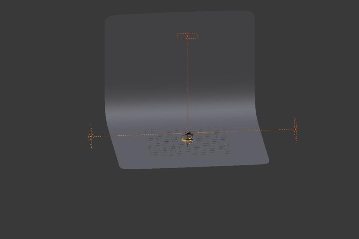 Three Point lighting using AREA lamps