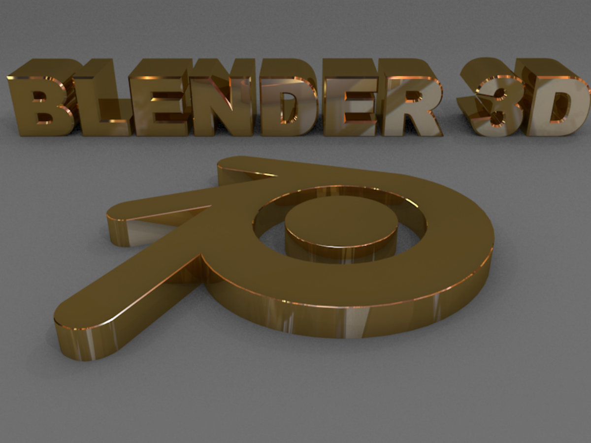 How to make Gold in Blender