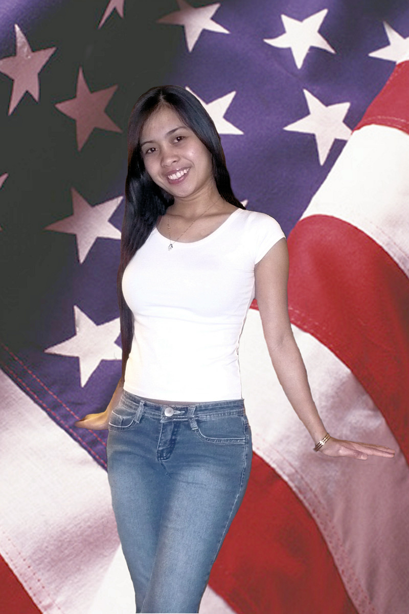 A permanent resident so far but American citizenship is her goal!
