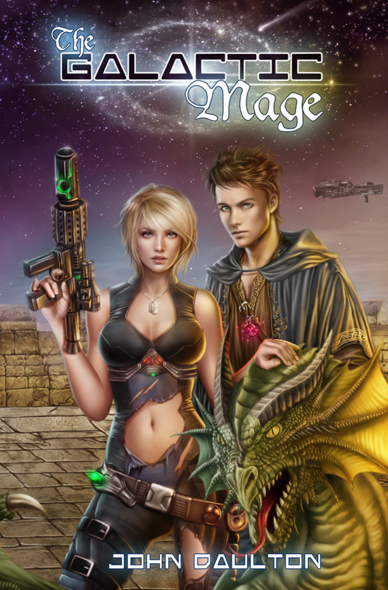 The Galactic Mage - my latest novel. Come see. The video trailer alone is worth clicking over. 90 seconds of awesomeness awaits.