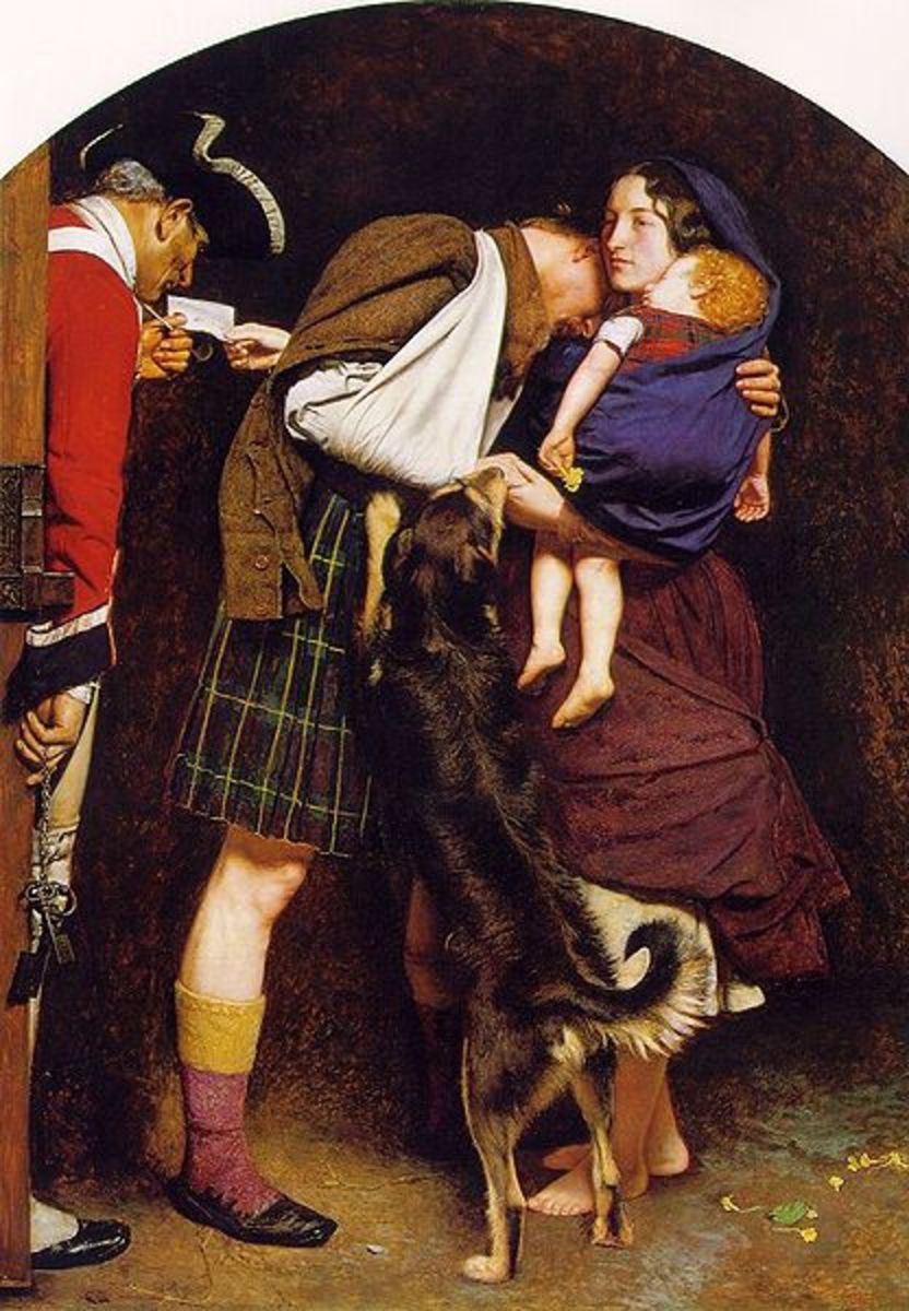 The Order of Release by Sir John Everett Millais, 1853. Image courtesy Wiki Commons