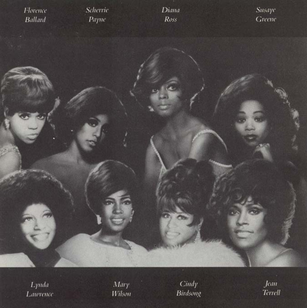 Rare photo of all The Supremes