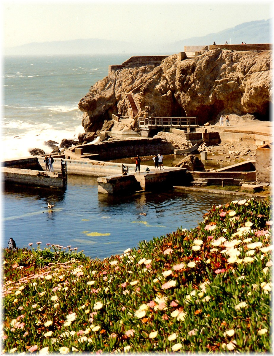 Another view of the Sutro Baths