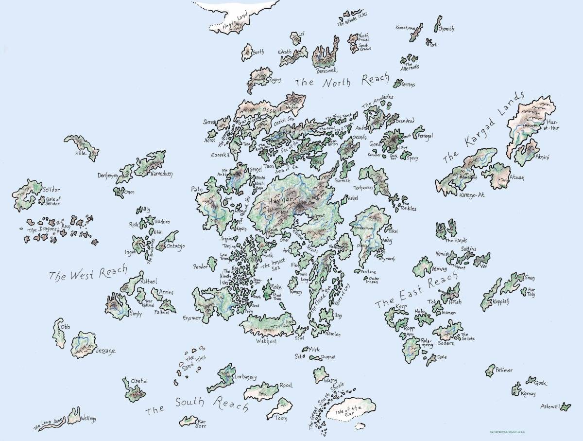 A Map of Earthsea