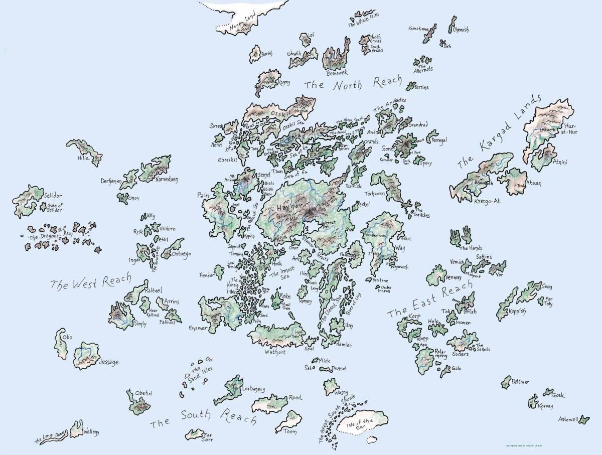 A Map of Earthsea