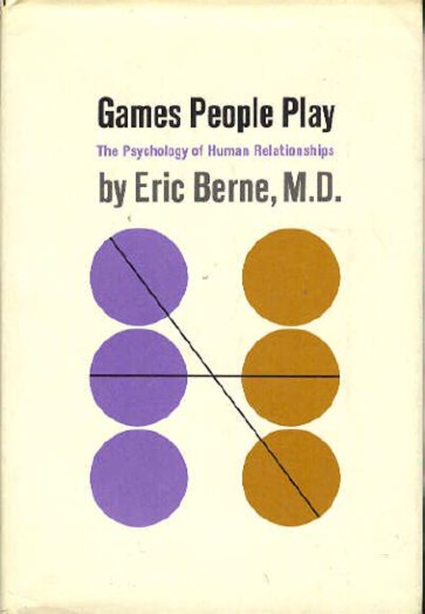 Cover of the first edition of Games People Play by Eric Berne
