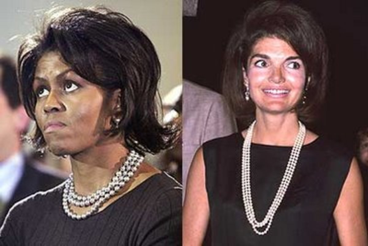 Michelle Jackie O pearls. colonelrobertneveille blogspot com