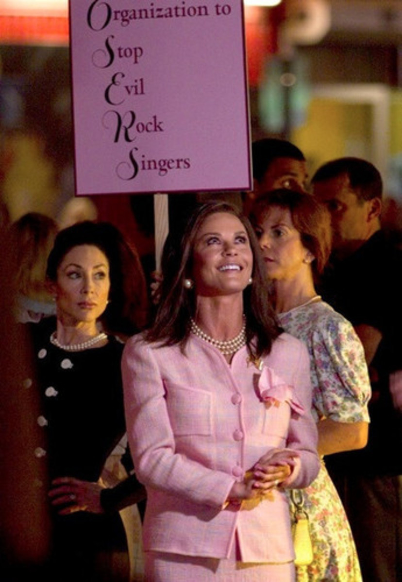 Rock of Ages Catherine Zeta Jones - The Triple Stand of Pearls is Now Iconic with Conservative Values June 2012