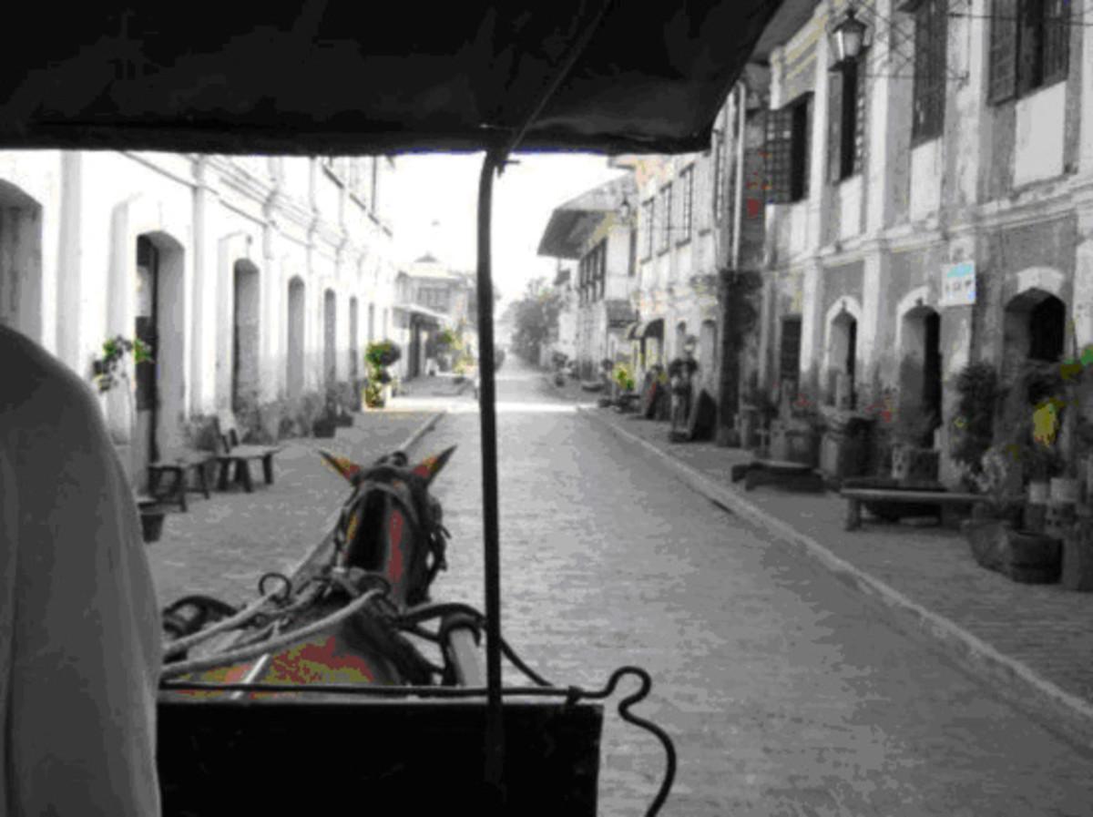 Calle Crisologo Street - Vigan, Philippines