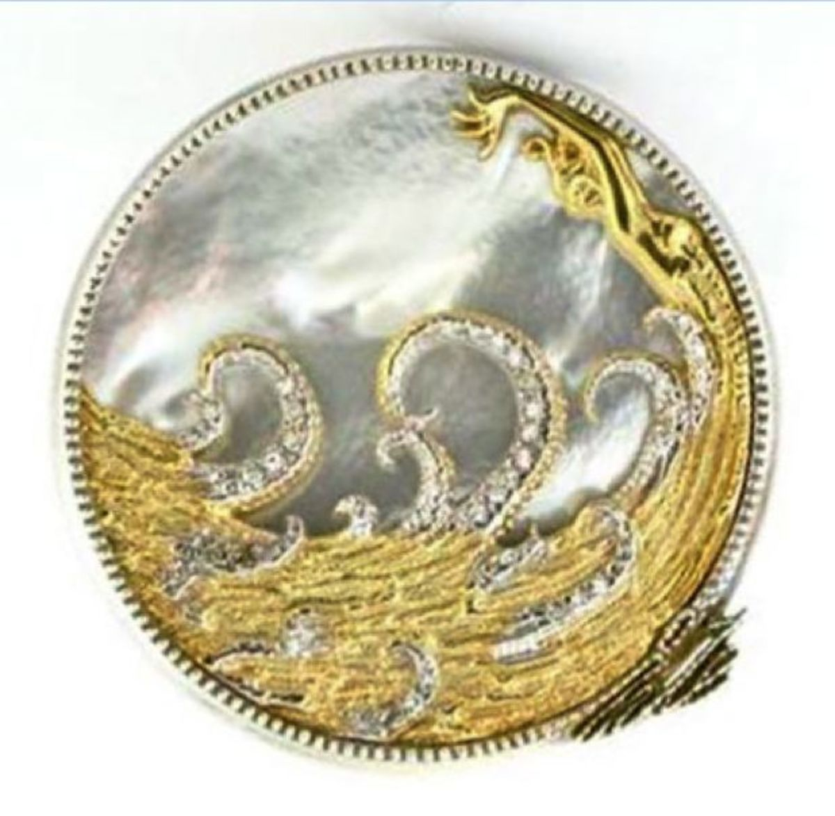 Erte Aphrodite Brooch/Necklace