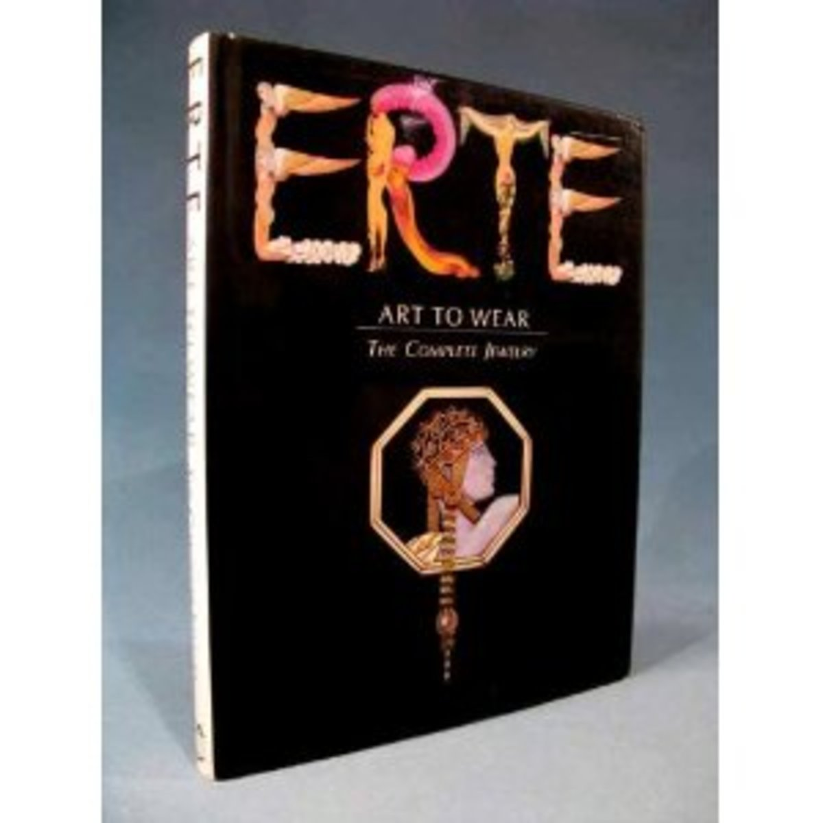 """Erte book: """"Art to Wear The Complete Jewelry"""""""