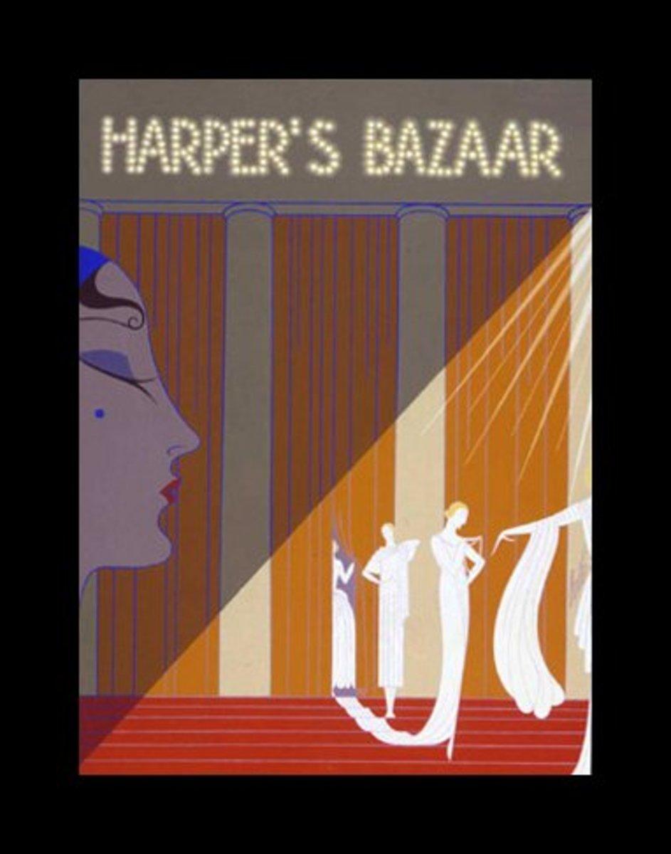 Magazine Cover:  Harper's Bazaar