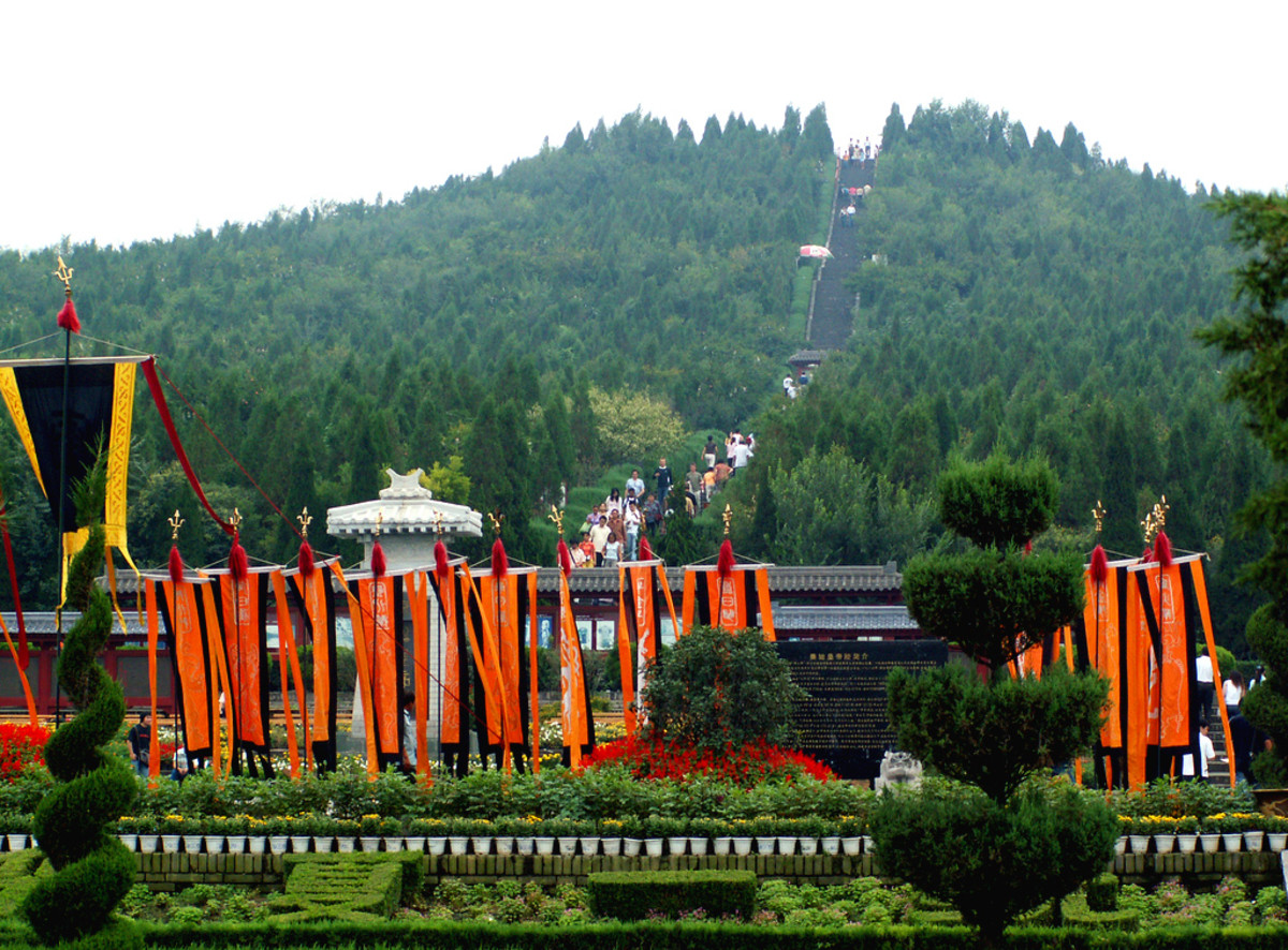 Mount Lee, Tomb of the First Emperor. Photo courtesy China Travel.com