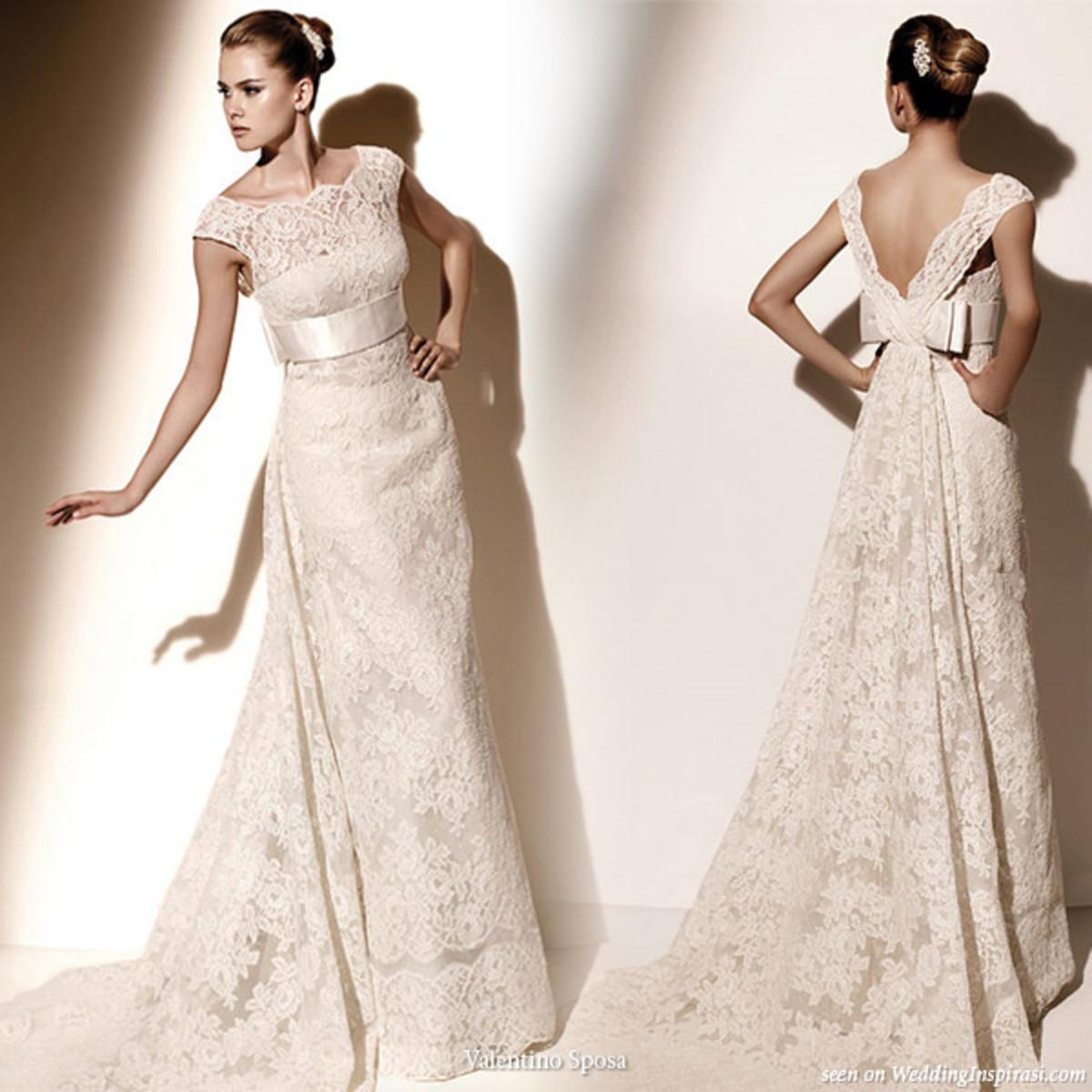 Wedding Dresses For Thin Brides : Flattering wedding dresses for skinny brides
