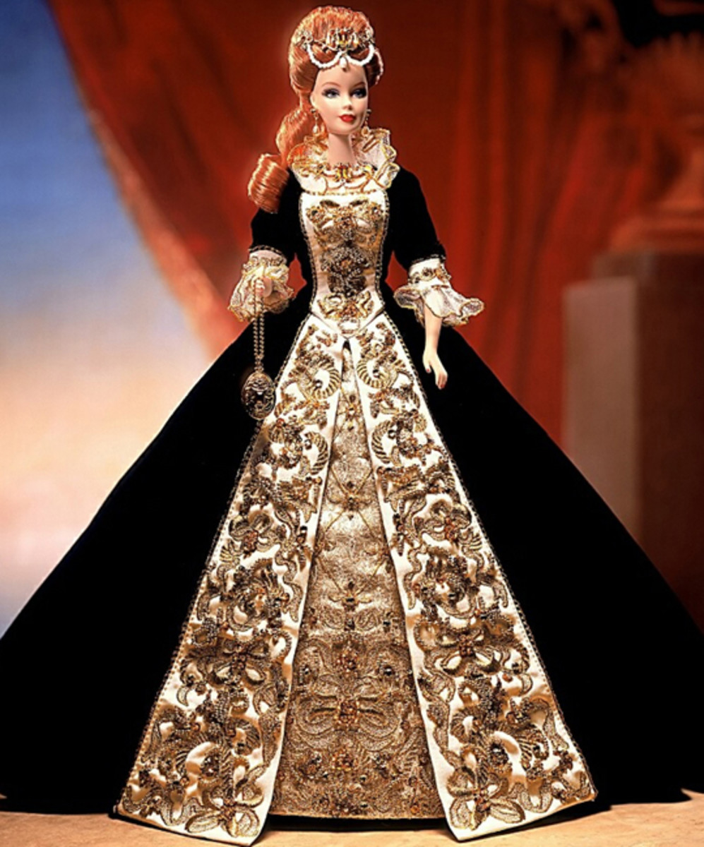 Top Toys - Great Gifts Faberge Imperial Elegance Porcelain Barbie Doll and Eggs Limited Editions | Buy Online