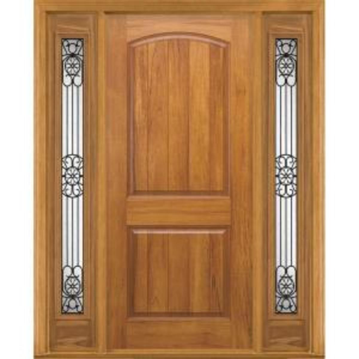 Fiberglass Spanish Cedar Homedepot.com