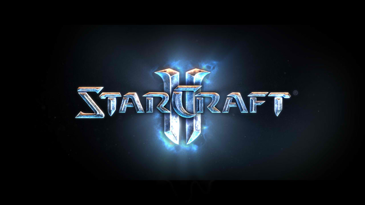 The official logo for Starcraft 2.