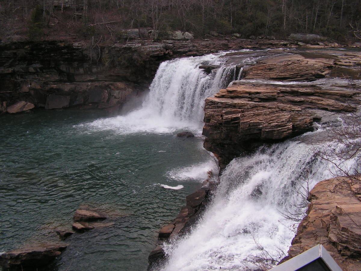 Falls at Little River Canyon National Preserve Lookout Mountain Alabama