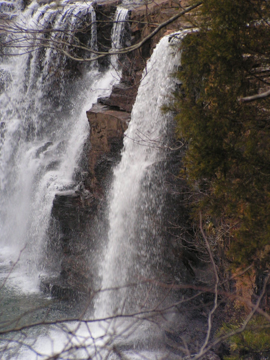 Little River Falls at Little River Canyon National Preserve