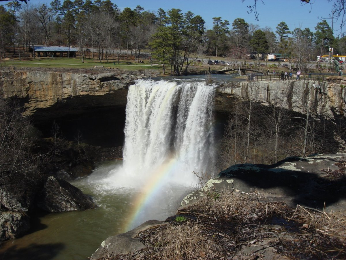 Noccalula Falls Park Northeast Alabama