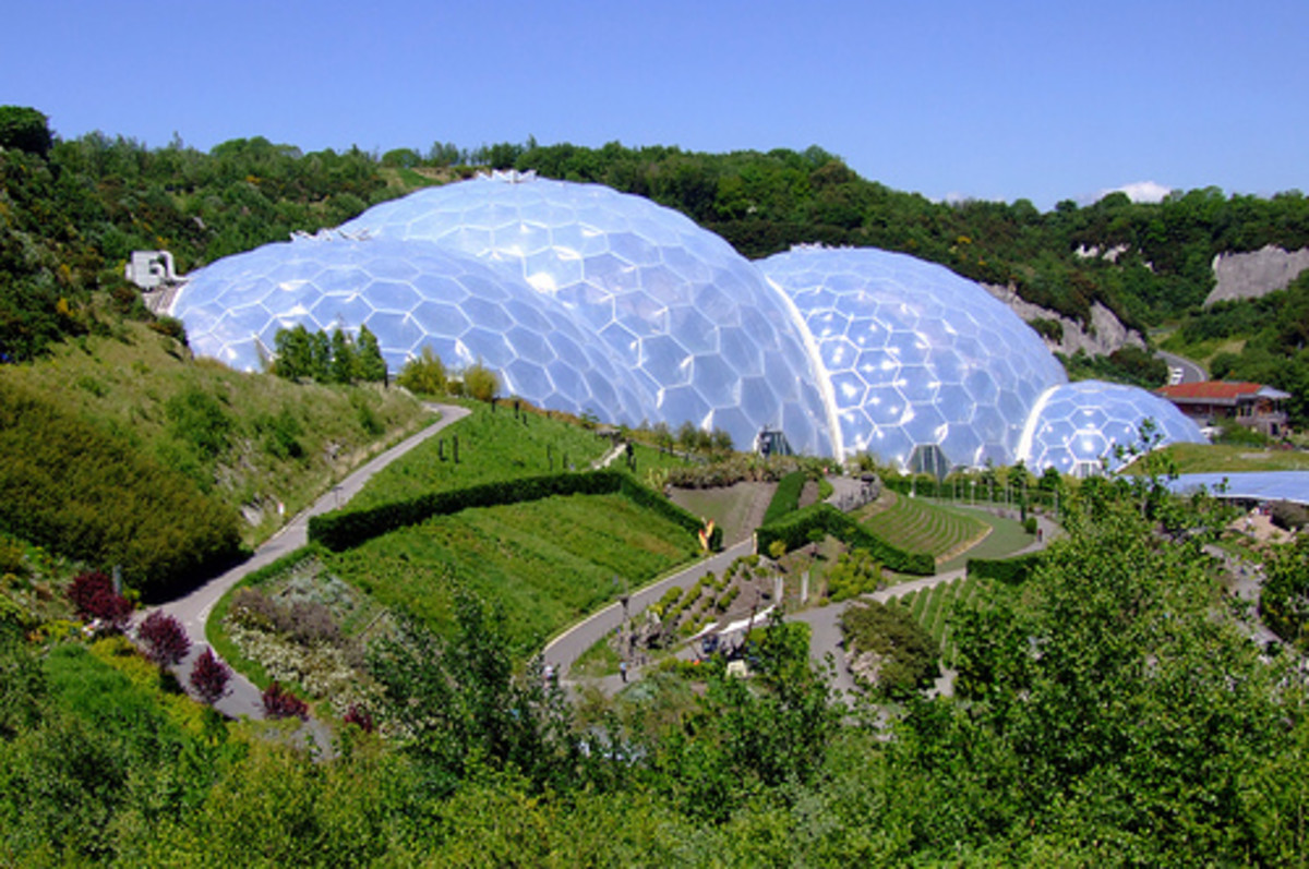 Eden Project, Cornwall: The Eden Project Biomes