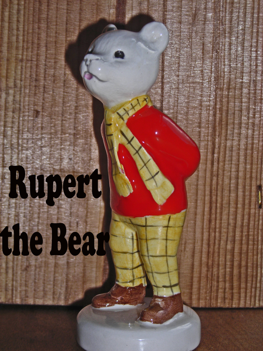 Rupert Bear - Collectable Figurines for Christmas Gifts
