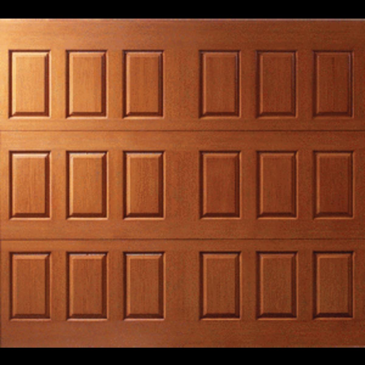 Fiberglass Walnut Garage Door by Wayne Dalton http://directory.qualifiedremodeler.com/product/5302/Wayne-Dalton_Fiberglass-clad_garage_doors