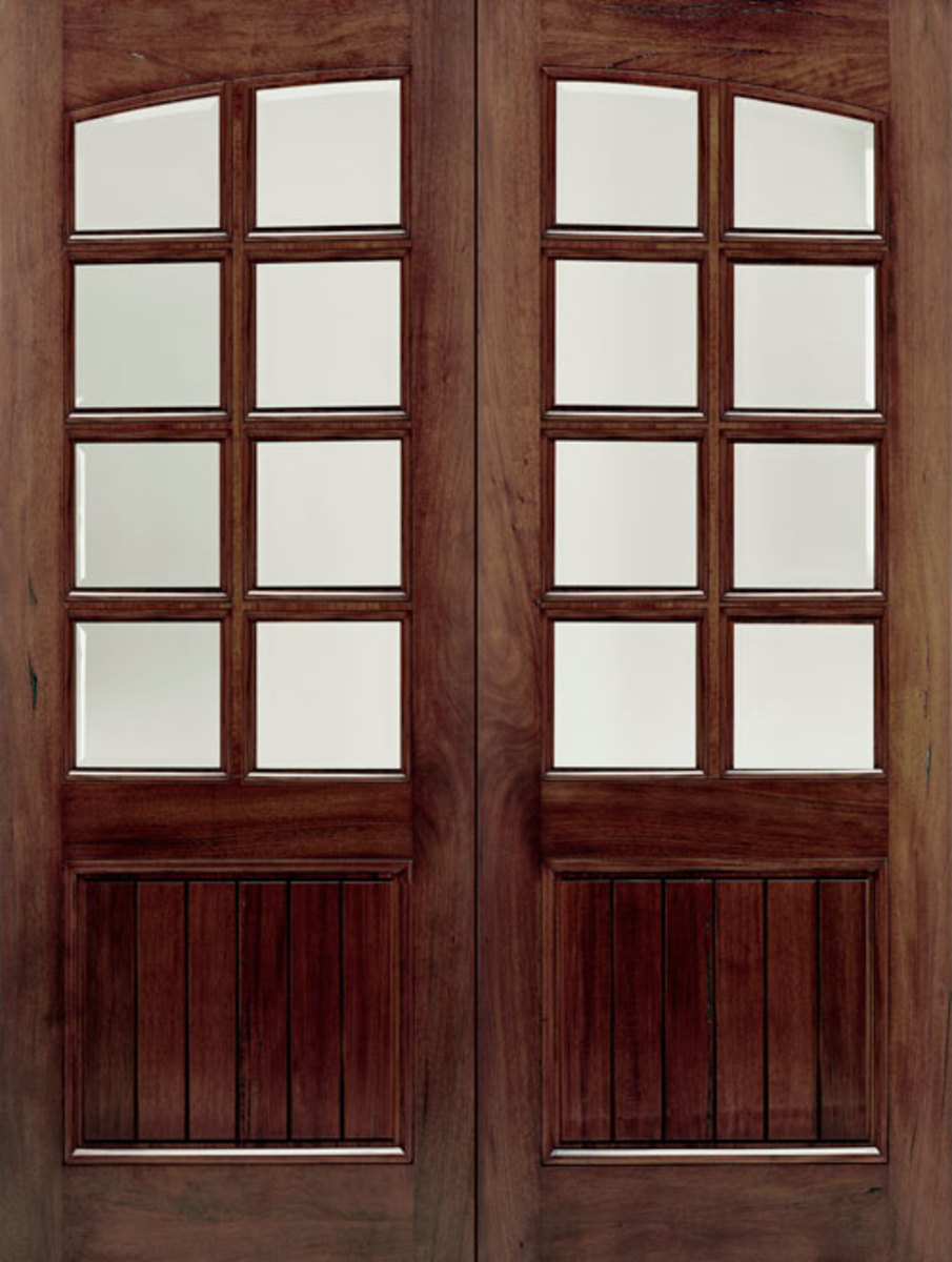 Walnut Door doorsforbuiders.com
