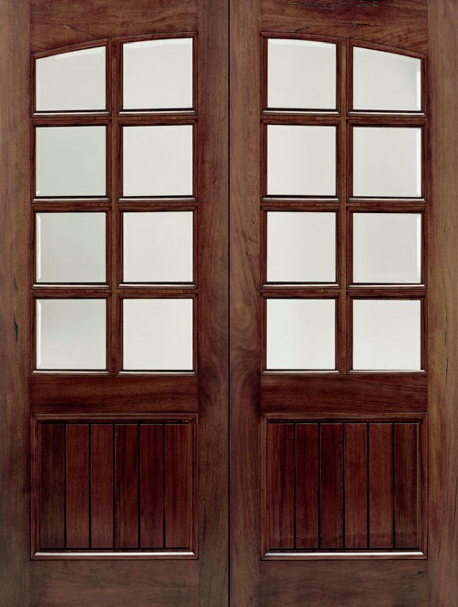Walnut Door doorsforbuiders.com