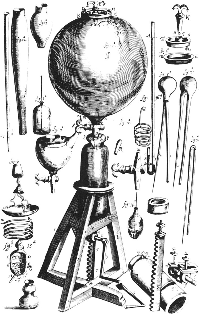 AIR PUMP OF ROBERT BOYLE