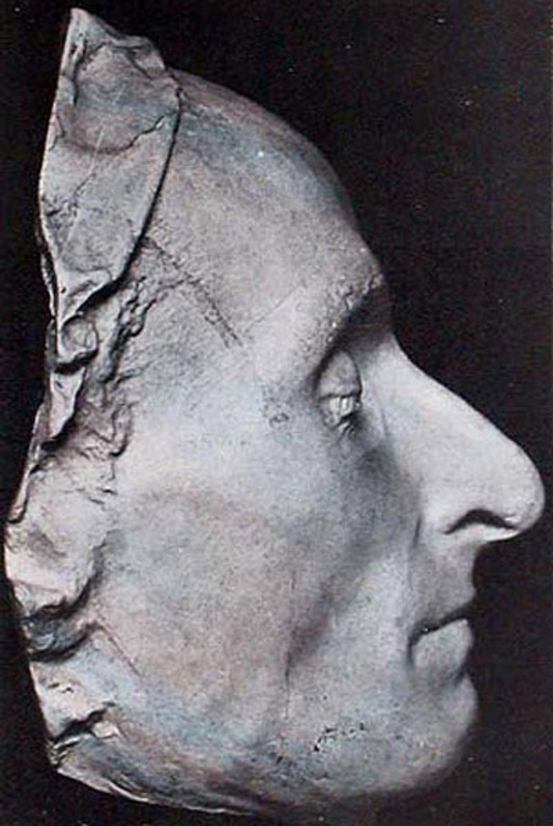 DEATH MASK OF PASCAL