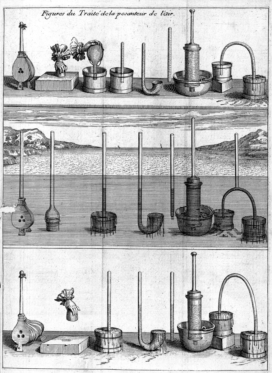 INSTRUMENTS FROM THE WORKSHOP OF BLAISE PASCAL