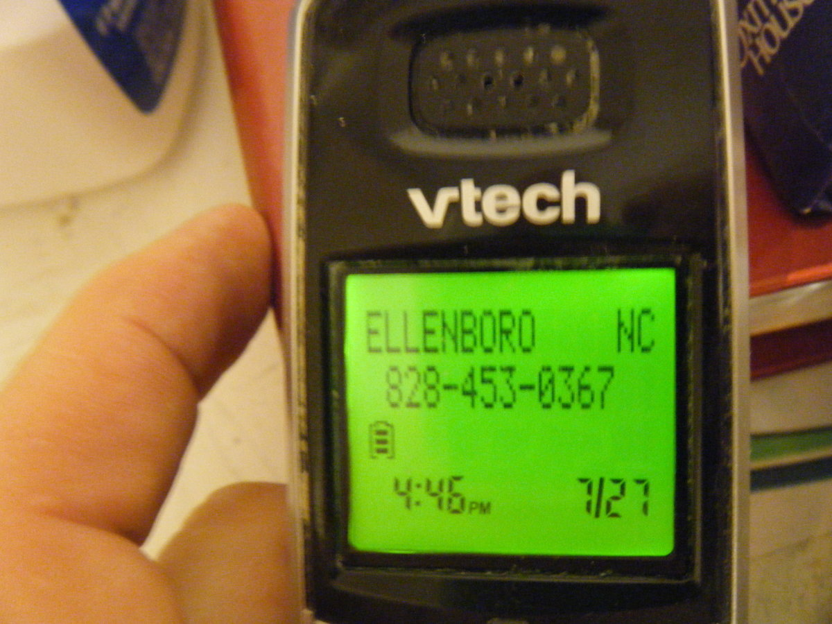 My Mom's Old Number Is A Non Working Phone Number But She Still Calls My House From That Number Even Though She Passed Away On January 6TH , 2010. I documented one of the phone calls back in July of this year. How she does it I don't know.