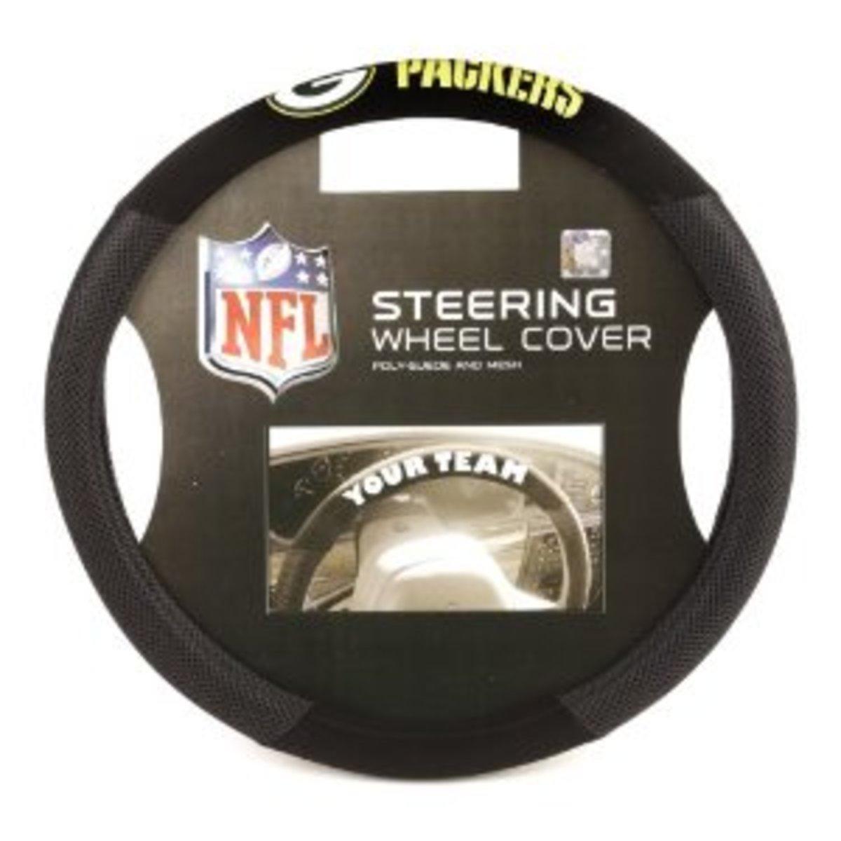 NFL Steering Wheel Cover
