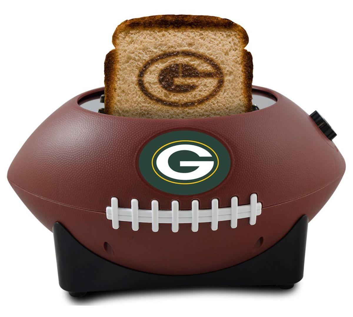 Green Bay Packer Football Toaster