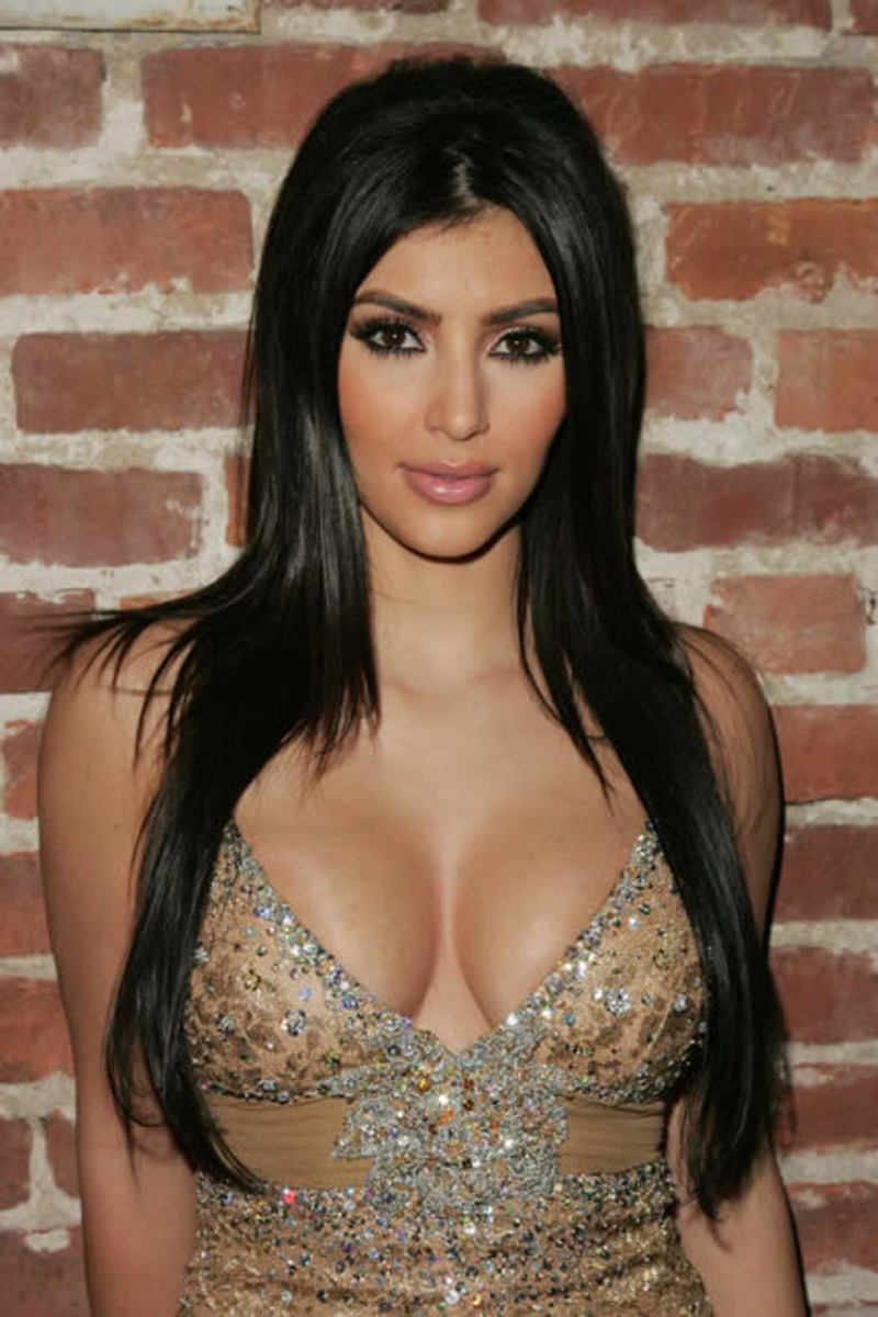 Kim Kardashian Has Great Hair. Why?