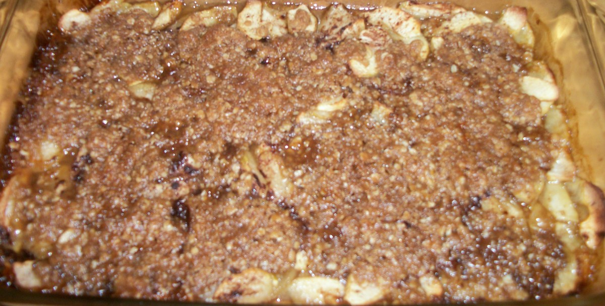 Mouth Watering Apple Crisp