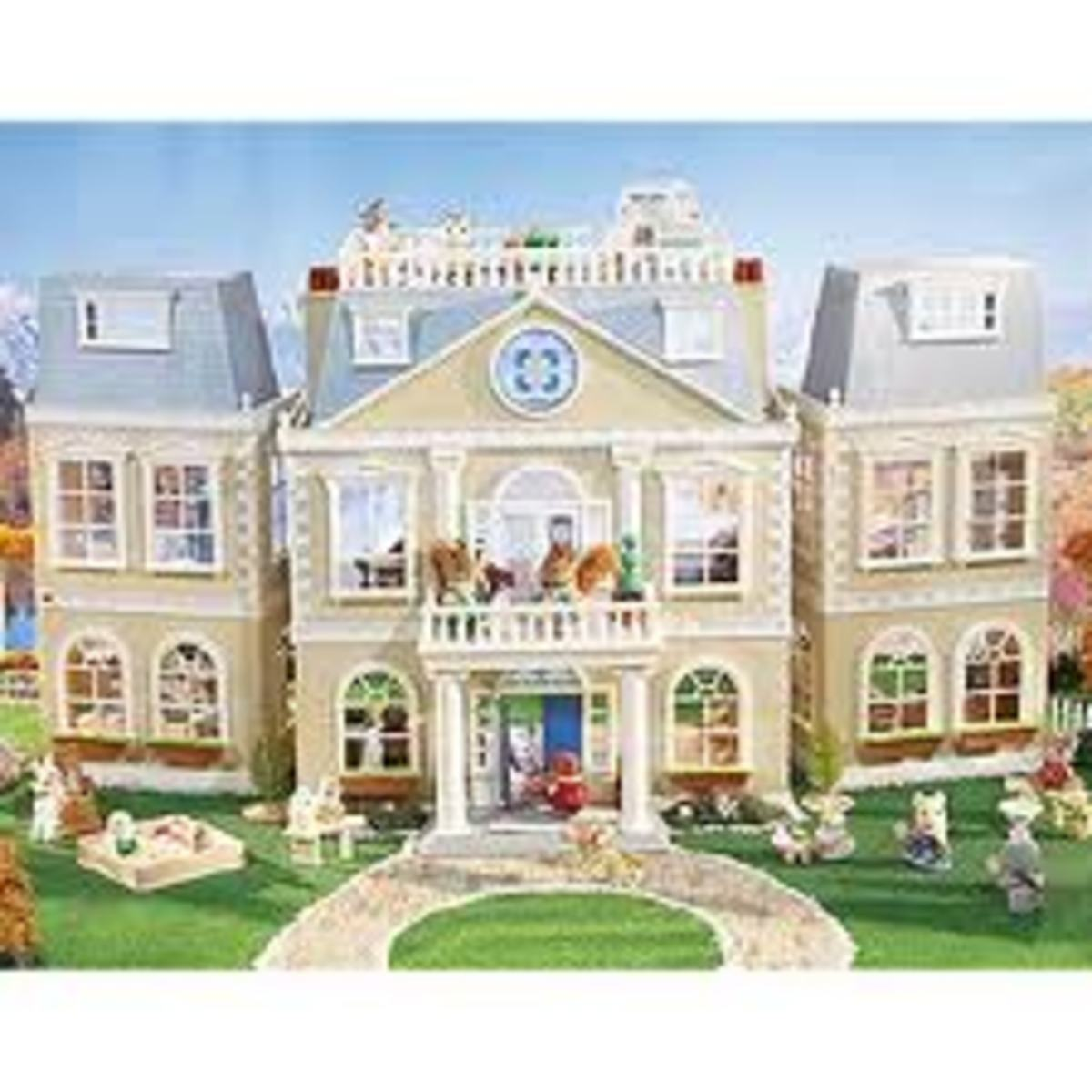 Calico Critters Cloverleaf Manor House