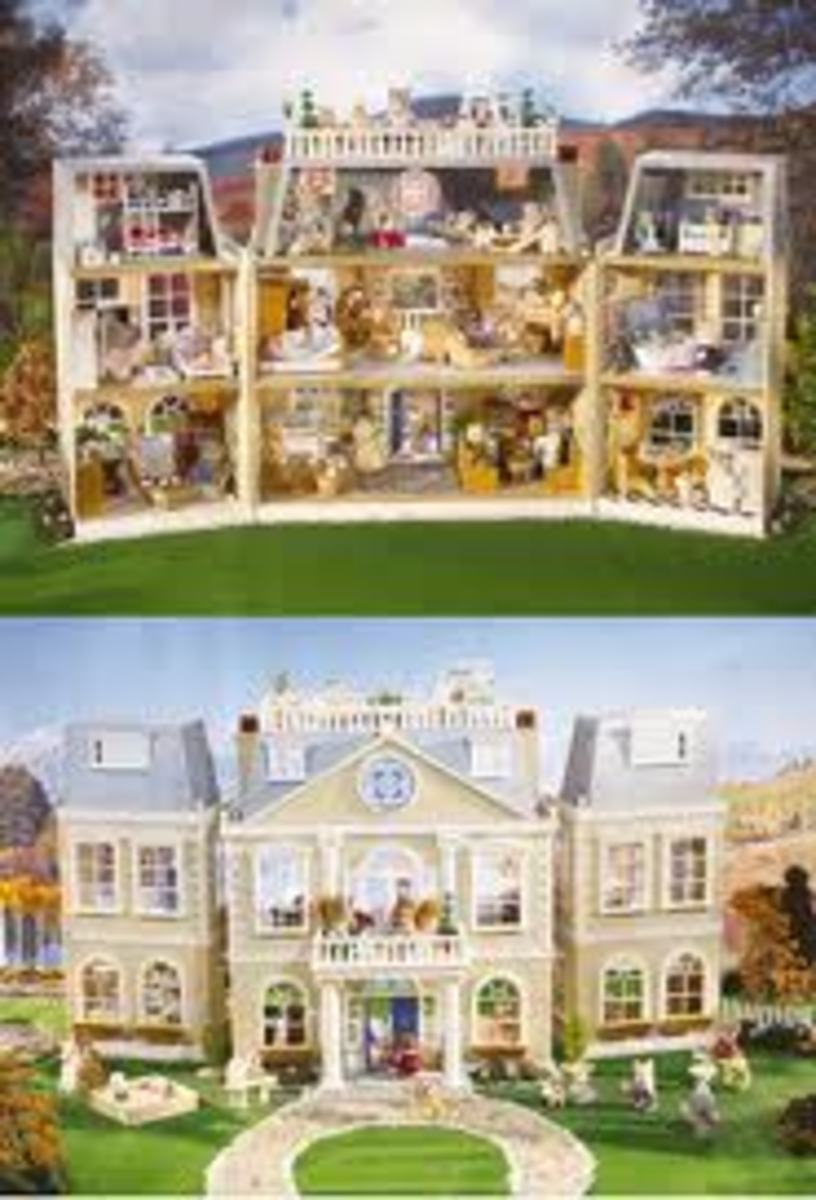 Calico Critters Manor House