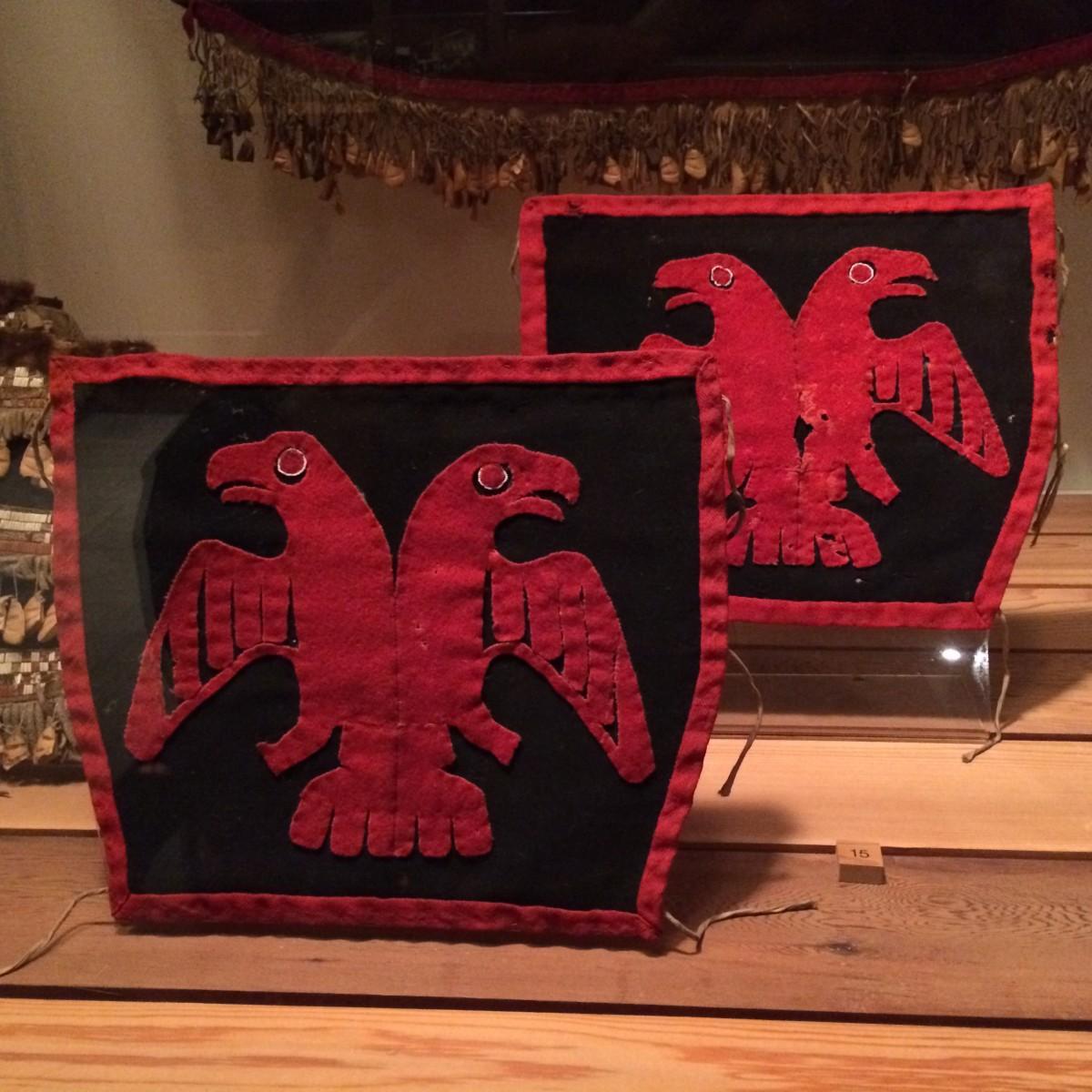 Tsimshian ceremonial leggings