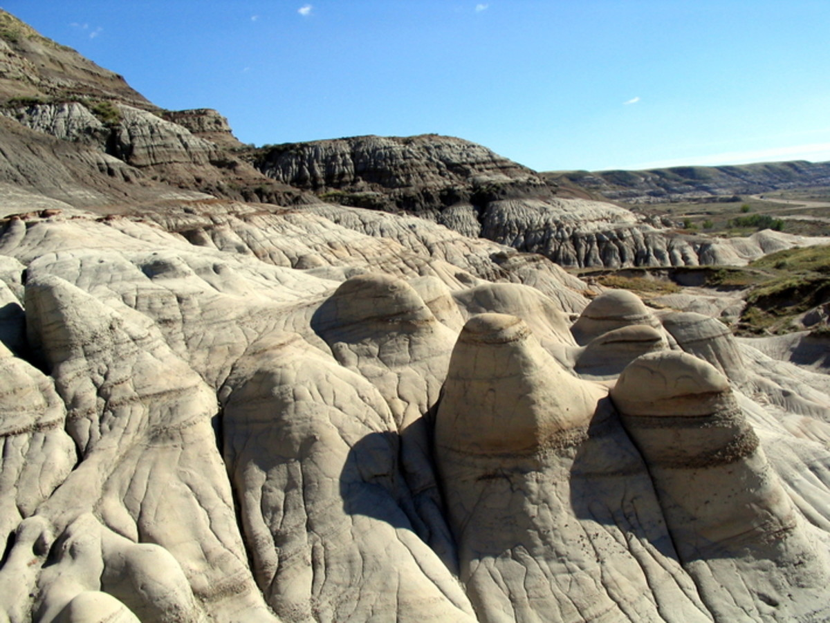A Trip to Drumheller, Alberta, Canada: The Land of Dinosaurs