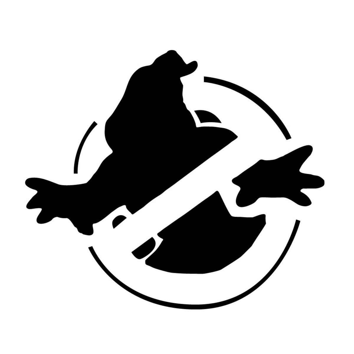 Print out this Ghostbuster's image for your Jack-o-Lantern.