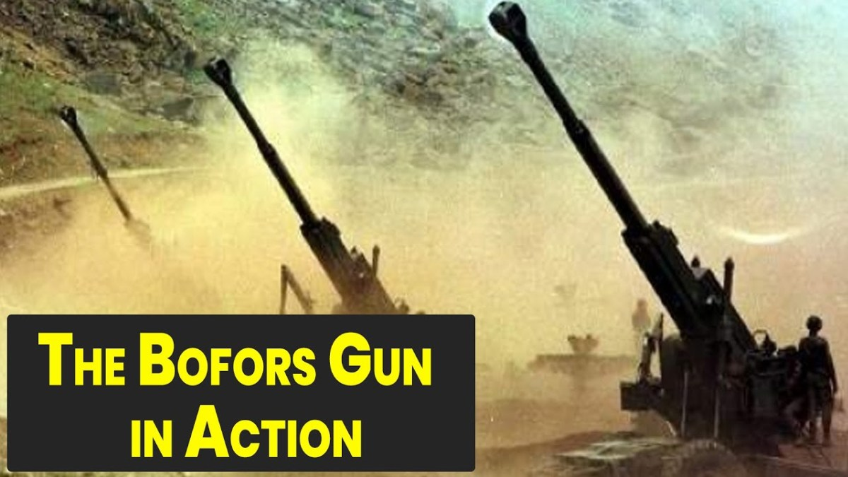 Bofors Gun and a Controversy in India About It.