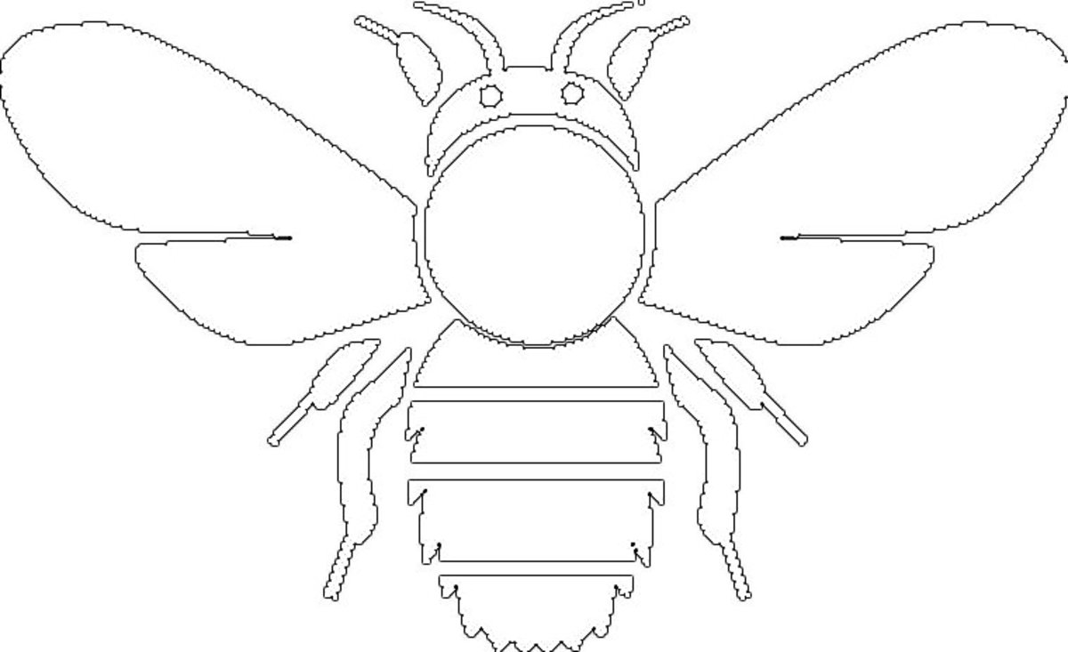 Kids Wild Animals Coloring Pages - Flying Insects