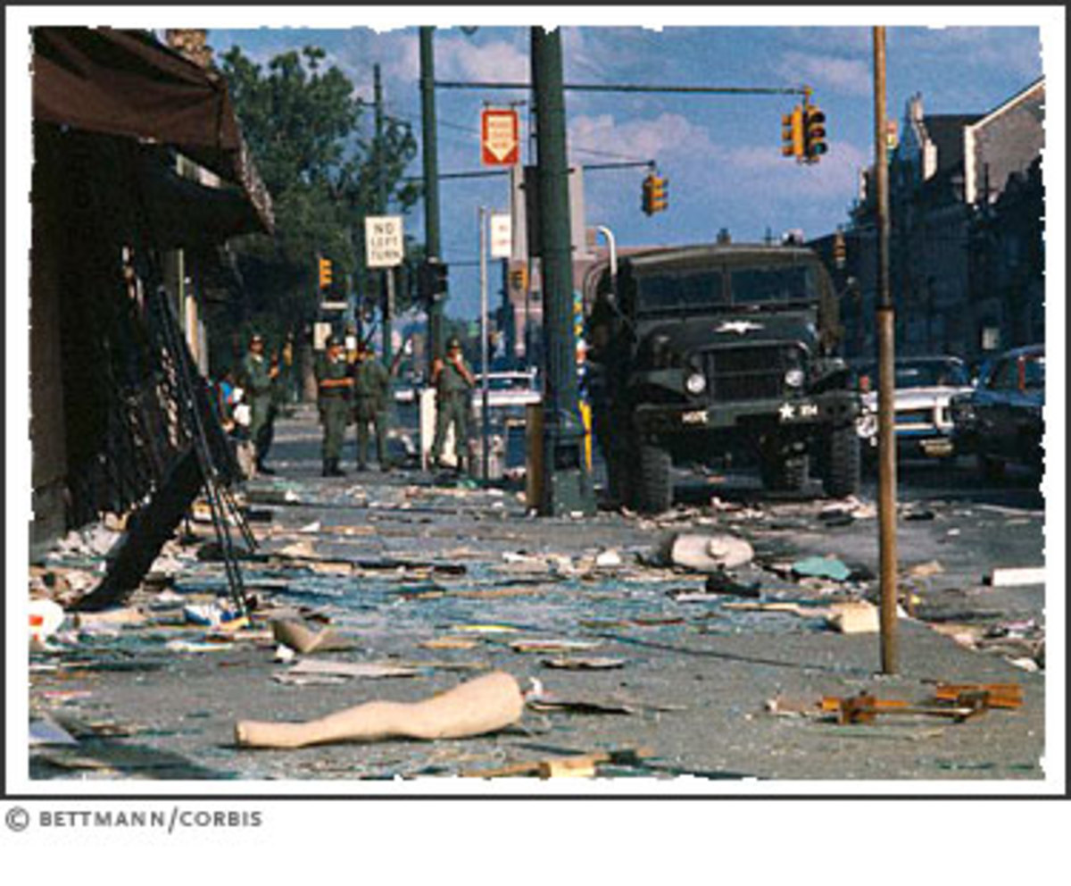 THE AFTERMATH OF THE DETROIT RIOTS