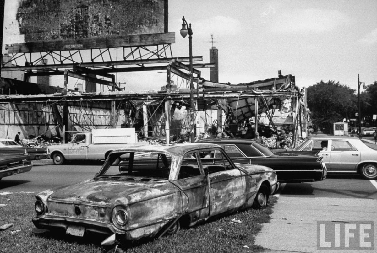 DETROIT MICHIGAN AFTER THE RIOTS OF 1967
