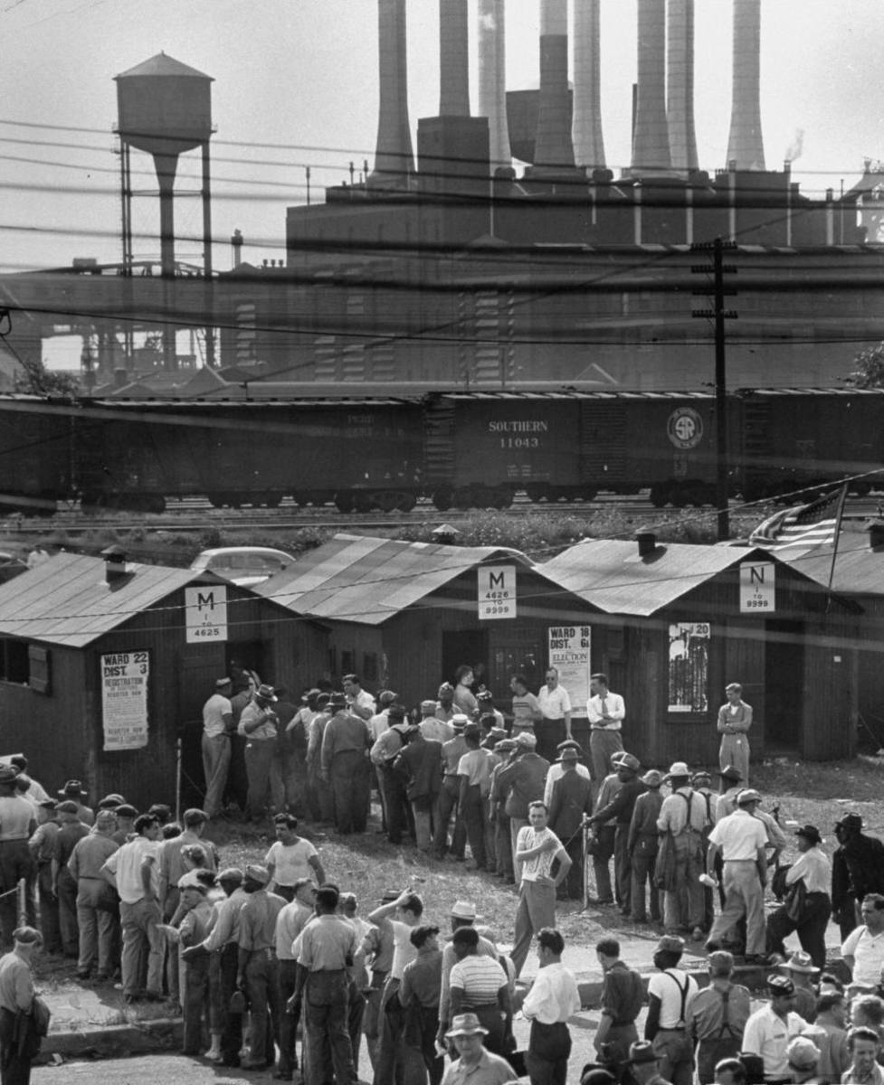 DETROIT RIVER ROUGE PLANT STRIKE 1949
