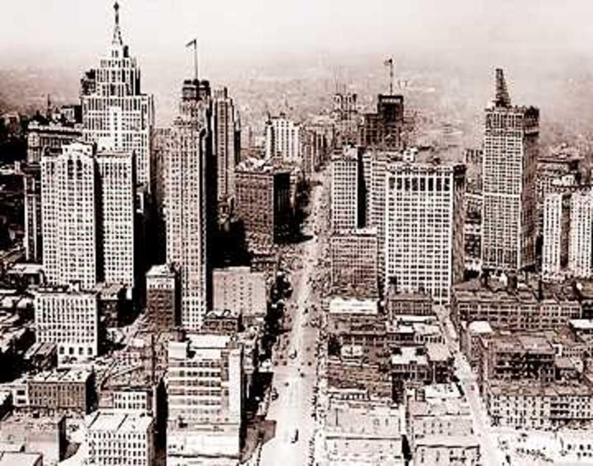 DETROIT 1950S