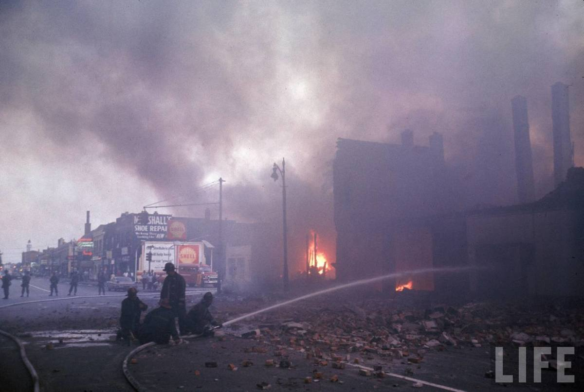 DETROIT RIOTS OF 1967